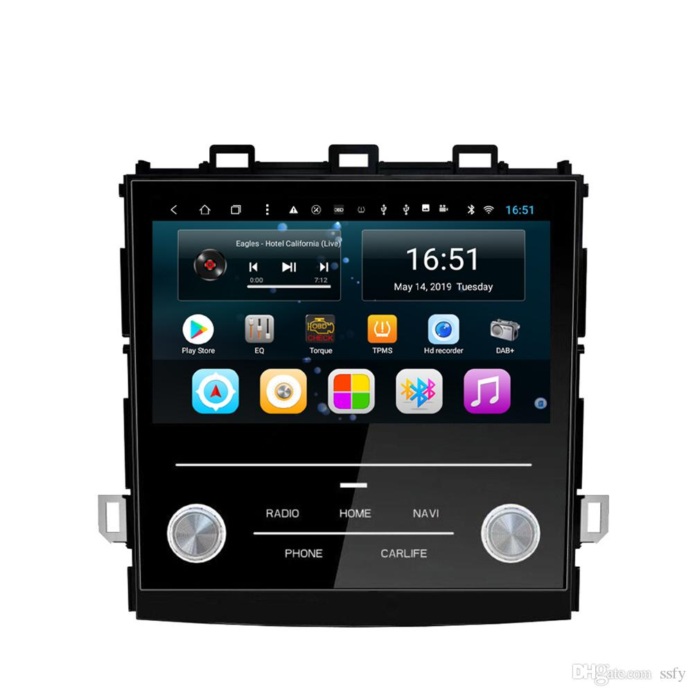 Android car player with multimedia player multi-touch screen microphone bluetooth mp3 mp4 music fast delivery for Subaru XV 2018 9inch