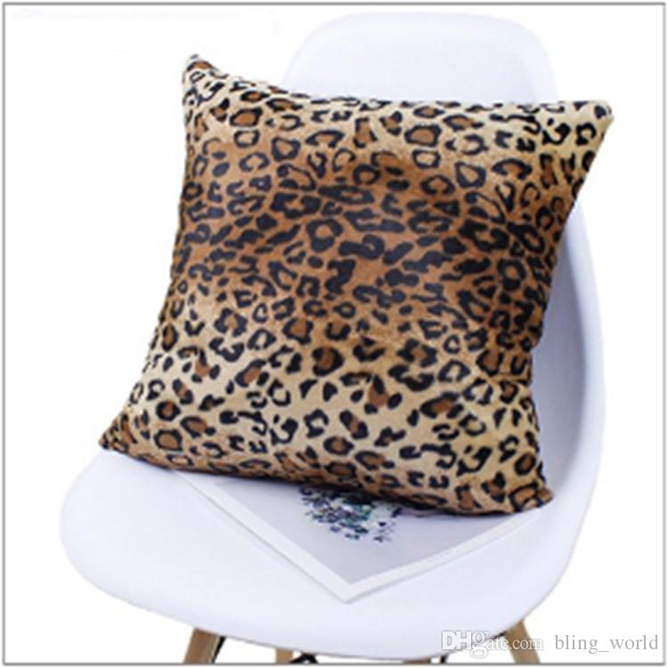 Cheap Animal Pattern Pillow Case Leopard Cushion Pillow Covers Square Super Soft Throw Pillowcases Cushion Cover For Bench Couch Sofa Ysy7 From Bling World 1 29 Dhgate Com