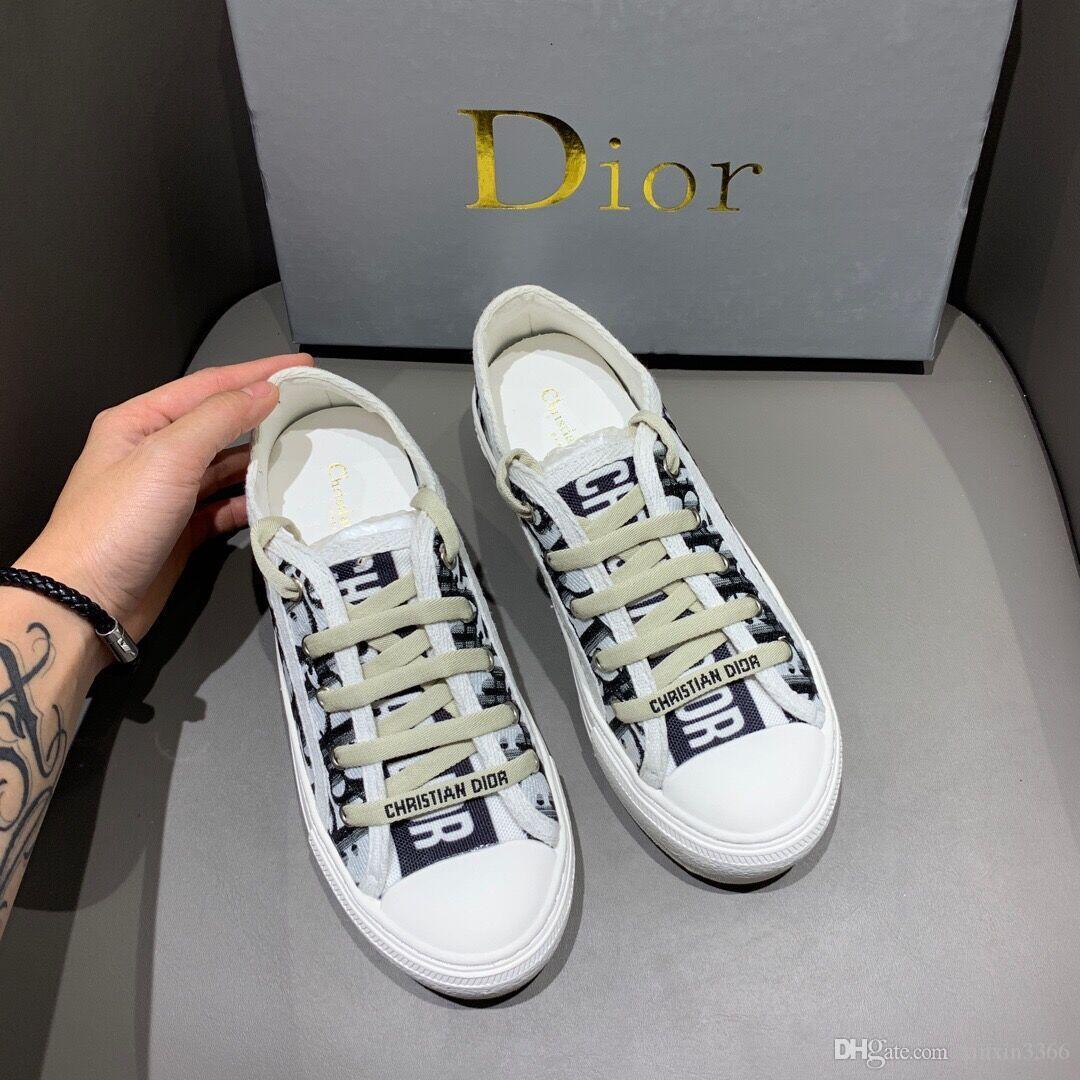 Women Fashion Canvas Shoes 0\u0026#13;Dior