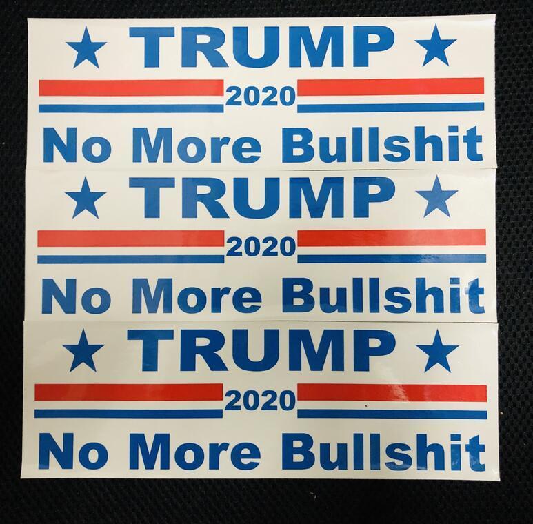HOT New 3 estilos Trump etiqueta do carro 2020 eleição geral presidente dos EUA, Donald Trump bandeira Adesivos DHL livre