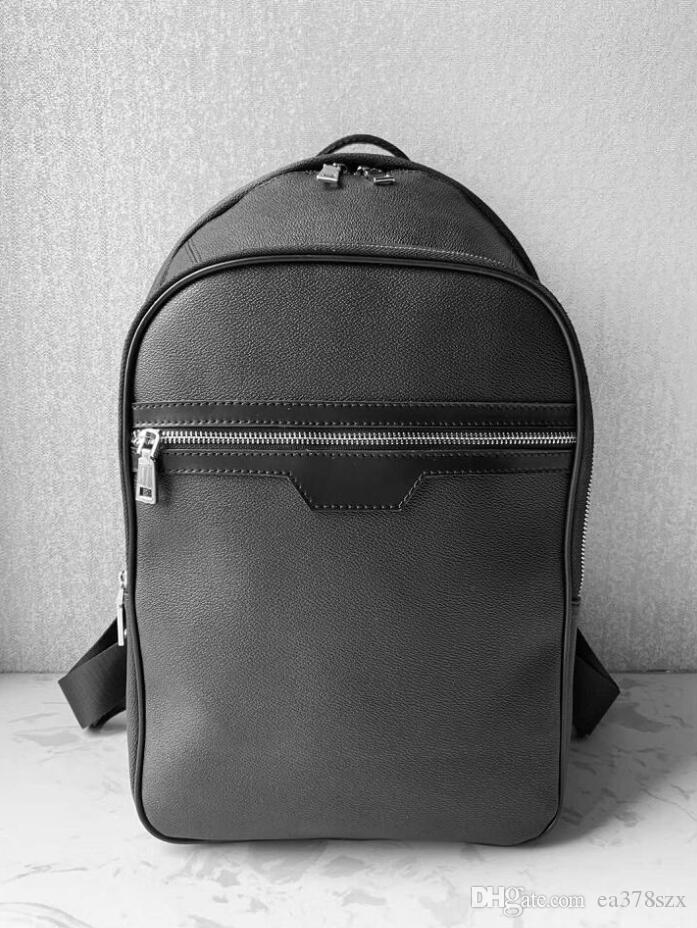 2020 Schüler Rucksack Mens weibliche Rucksack Hot Marke Doppelschultertasche Männliche Schulranzen Leder-Umhängetasche Computer Bag