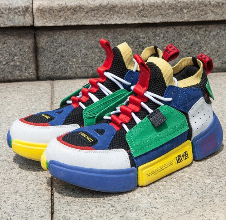 2018 nouvelle façon de Wade Lumières 2 de basket-ball Chaussures Casual Hommes Femmes sport Chaussures Casual formation Sneakers Chaussures de course A32