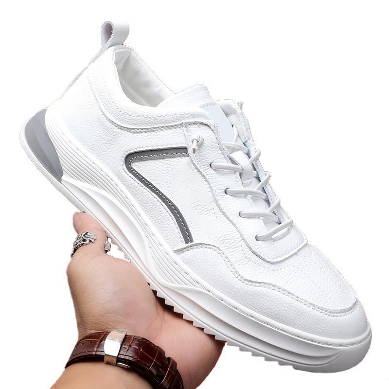 Chaussures Mode Haute Qualité Hommes Casual Luxe Simple Chaussures de sport Chaussures de course Bas Rouge Noir sauvage chaussures en cuir blanc Parti Size39-44