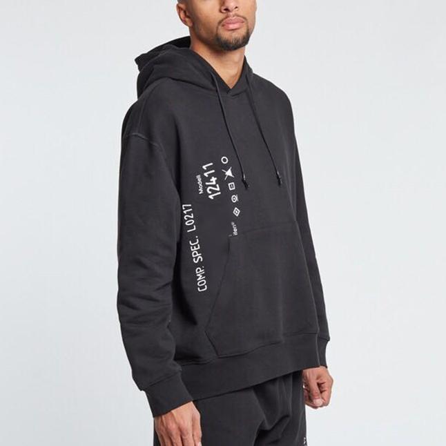 2019 Outono Nova Marca Mens Camisola Com Capuz Designer Hoodies Pullover Letras Impressão Camisola Ocasional Esportes Execução Outwear LJJ98287