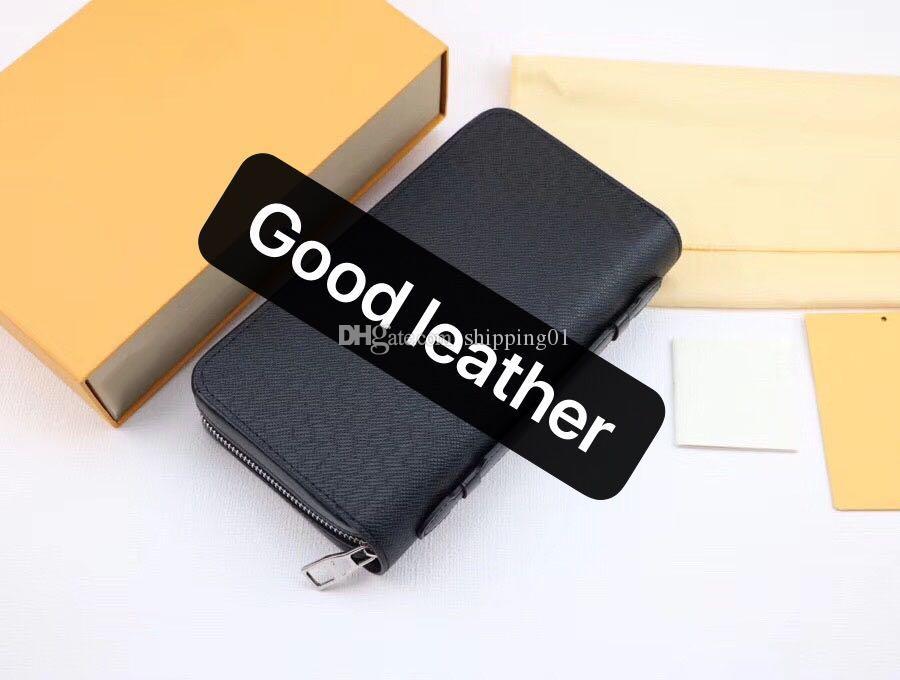 긴 지갑 디자이너 핸드백 대용량 지갑 지퍼 멀티 컬러 스타일의 남성의 손 가방