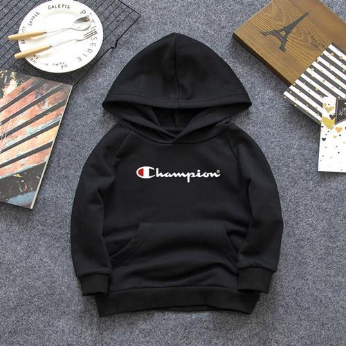 Diseñador de la marca de la letra sudadera con capucha manga larga2-7Age Chicos niñas camisa chaqueta primavera otoño tops suéter 100% algodón de manga larga 3 color