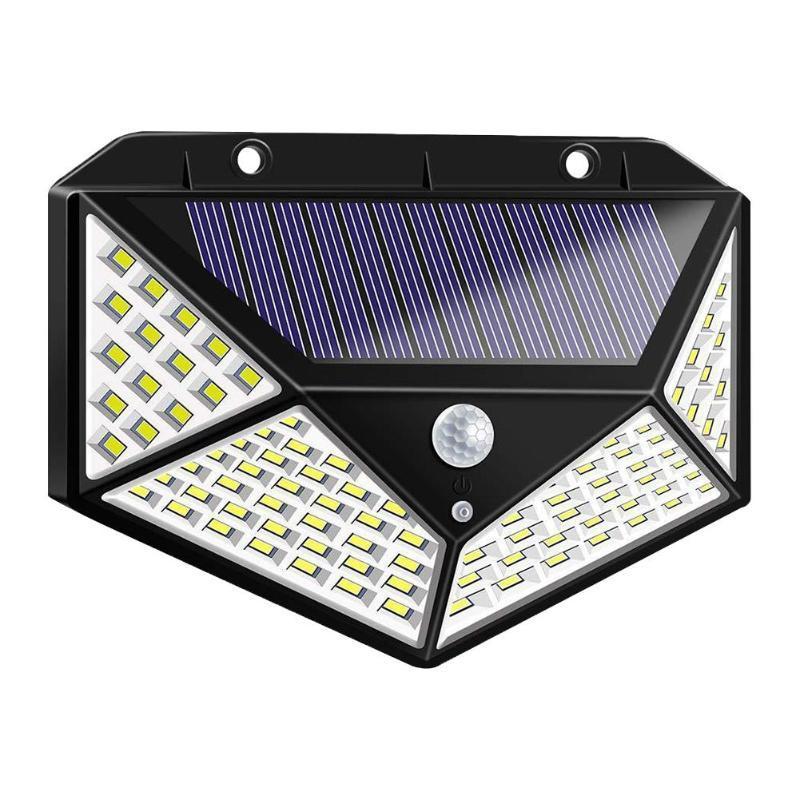 100LED Solar Light Motion Sensor Waterproof Yard LED Solar Lamp for Outdoor Garden Street Lights Lighting Dropship