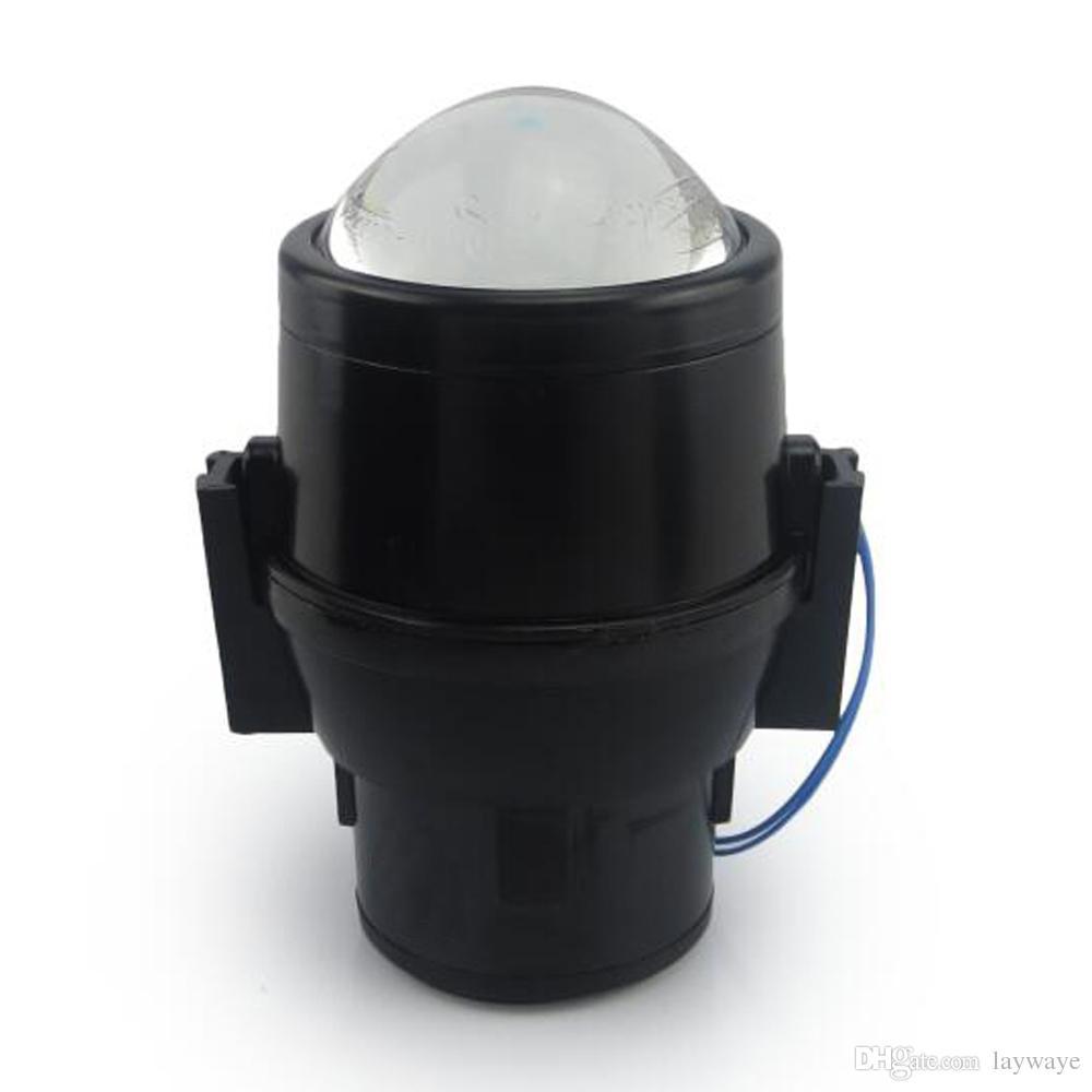 Ön tampon yüksek düşük ışın lens spor led halojen hid h11 h16 CITROEN C3 2001 2009 için ampul sis farları montaj tutucu