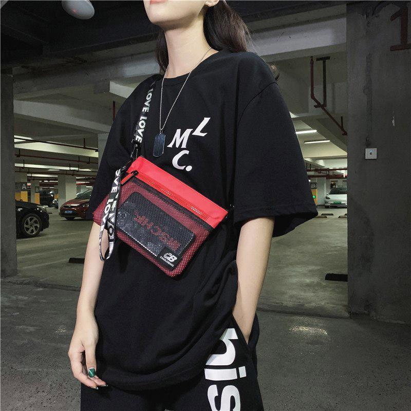 Bolsas de cintura Hip Hop Bag Unisex Pack Pack Men 2021 Moda Teléfono Bolsa Oxford Mujer Crossbody Casual Hombre Hombro
