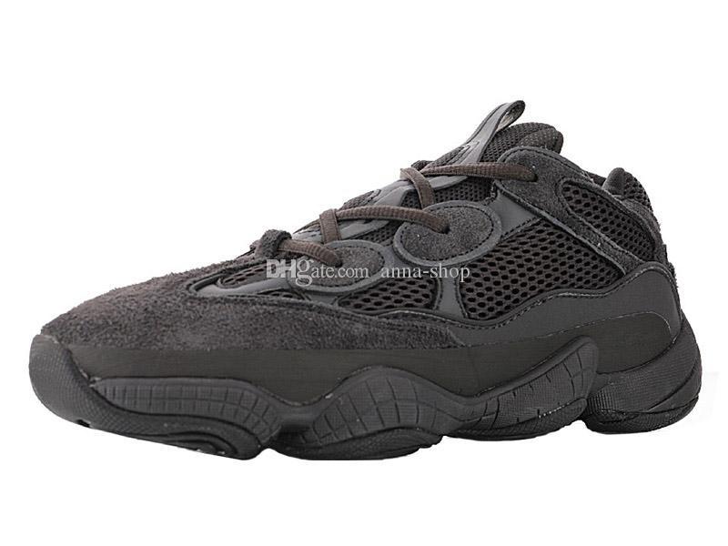 Blush Mens Kanye West Salt Sneakers da uomo Scarpe da corsa delle donne Giallo Scarpe luna di sport delle donne kanyewest Bone White formatori utilità nero