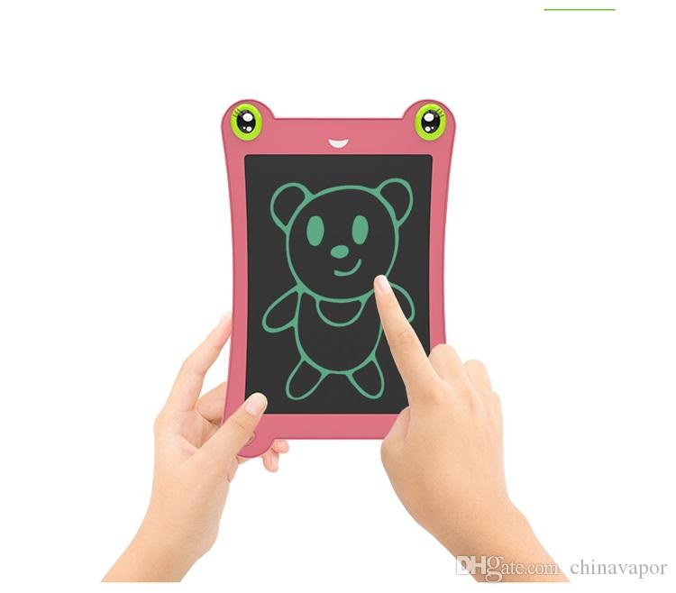 Frog-shaped 8.5 inch Ultrathin LCD Drawing Board Portable Handwriting Tablet Graphics Tablets Pens LCD Writing Tablet Erase Drawing Tablet