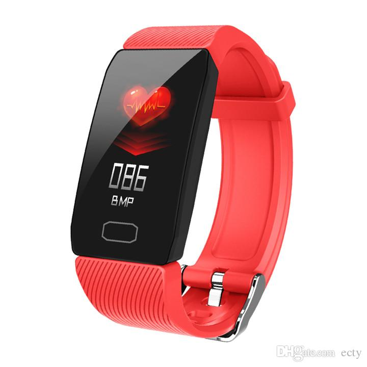 Q1 Smart Watch Sport Fitness Bracelet Heart Rate Tracker Blood Pressure Wristband IP67 Waterproof Band Pedometer for IOS Android