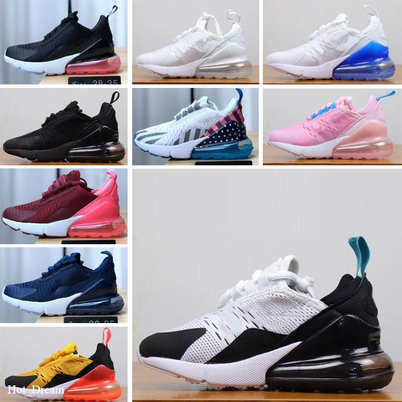 Boys Girls Breathable Canvas Athletic Tennis Sneakers Lace up Running Shoes