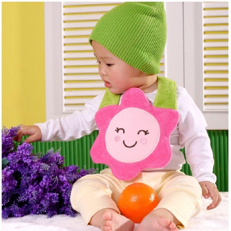 Baby Bibs 3 layers christmas bib for newborn to 3years Baby Towel babador bandanas Infant Apron bibs & burp cloths Free Shipping