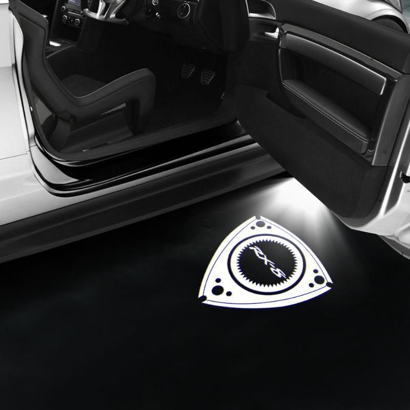 20pcs / lot Weiß RX8 Licht für RX8 CX-9 RX8 6 MAZDASPEED Auto-Tür-Licht-LED Courtesy LED-Tür-Warnung
