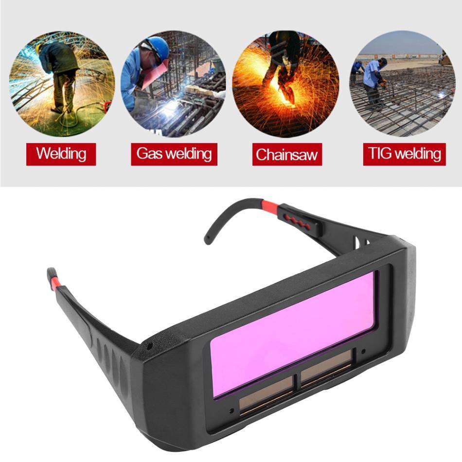 TCT 1PC Pratico Solar Solar Auto Bolding Goggle Goggle TIG MIG MMA Goggles Goggles Eyes Eyes Glassing Welding Gear Gear