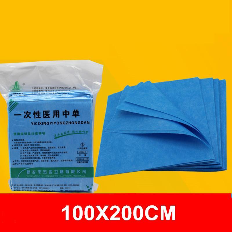 10pcs lenzuola usa e getta impermeabile blu massaggio viso SPA Hotel tabella sterile copertura anti olio pigmento foglio per salone di bellezza
