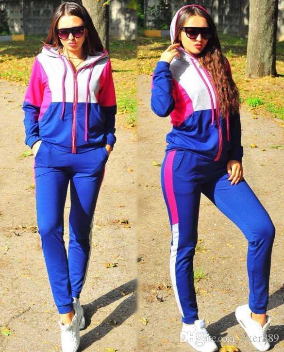 Benzer YENİ setini bul eşofman Eşofman Kadın Erkek eşofmanı + pantolon Erkek Giyim Sweatshirt Kazak Casual Tenis Spor Eşofmanlar