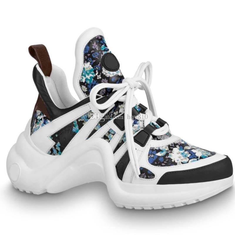 Die neueste Designer-Schuhe Luxus-Modemarke Frauen Designer Turnschuhe Neueste Top-Qualität der beiläufigen Schuhe Größe 35-41 Modell CL01