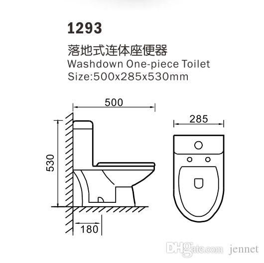 2020 Washdown One Piece Ceramic Toilet Childrens Toilet Mini