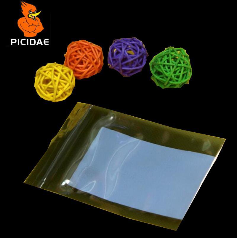 6x9cm Anti-static shield zipper Bone ziplock plastic Packaging Bag electronic Optical drive Components Hardware Circuit IT IC Pcb boar