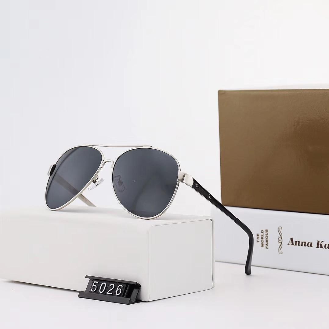 2020 новая модель 5026 модель овального мужского металлического поляризационного металлического лака зеркальная рама с ультра жесткой пружинной ножкой объектива
