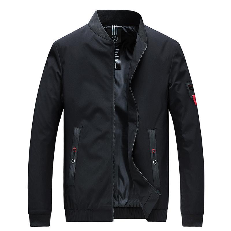 Nice Men Jackets And VogueCoats Fashion Men Collar Slim Fit Spring Jacket Windbreaker