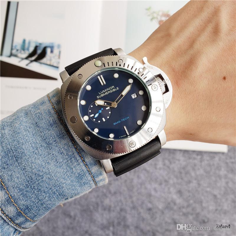 Markenuhr Silikon Luminous Mode Männer Uhr Bell Aviation Limited Edition Uhr-Mode-Designer Submersible Uhren Relogio Masculino