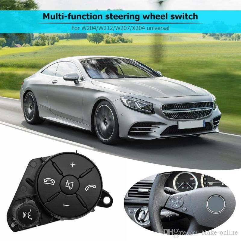 Botón multifuncional del interruptor del volante del automóvil C / E / GLK Clase Steering Switch para Benz W204 W212