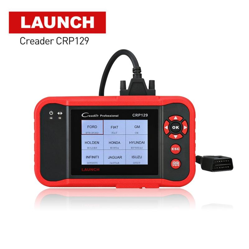 2018 New Original X431 Creader CRP129 Code Reader Scan Tool ENG/AT/ABS/SRS EPB SAS Oil Service Light resets Code Scanner