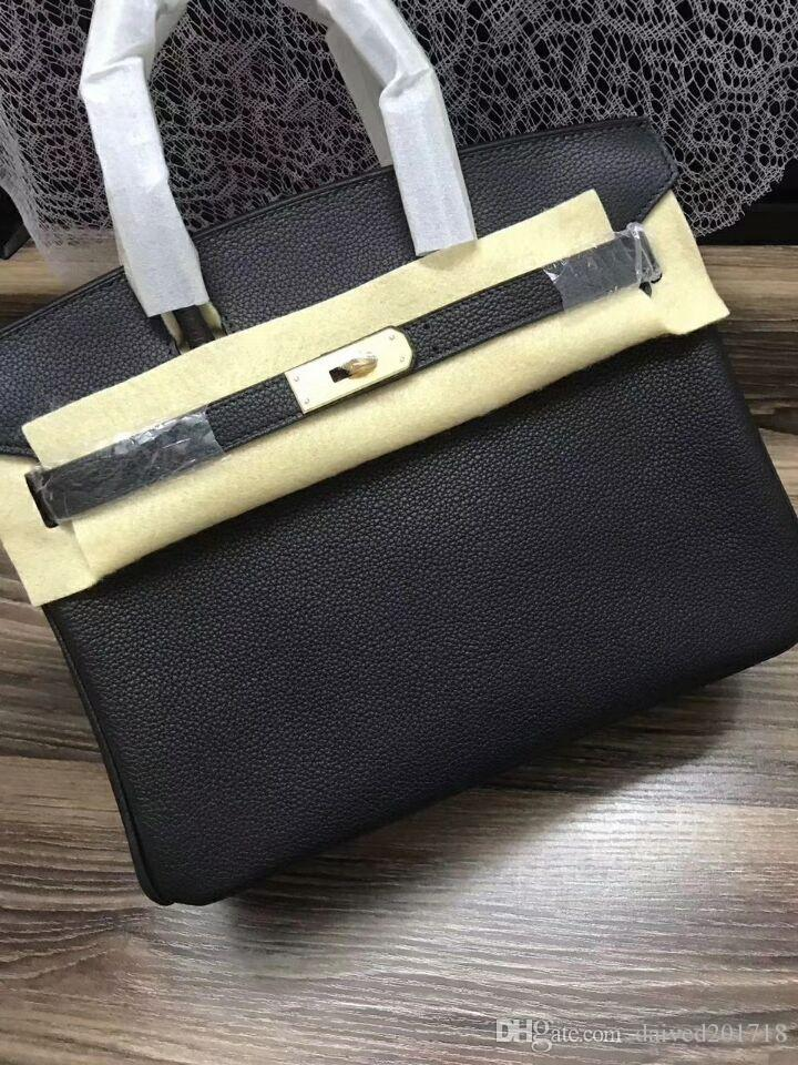 Sac européen dame de la mode de luxe de style classique sac à main de sac à bandoulière en paquet de platine solide mou mode en cuir paquet partie