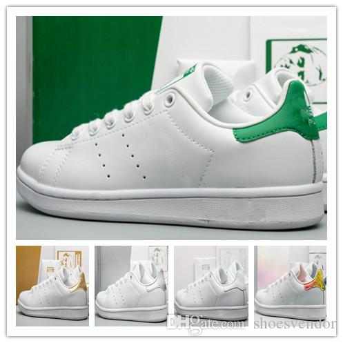 Discount womens designer shoes brand stan fashion smith shoes Casual Shoes leather classic sneakers tennis Hiking Jogging men sports cheap