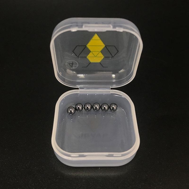 6pcs / Satz 4mm 6mm Sic Terp Pearls mini Sic Einsatz Silikon-Karbid-Kugel für Quarz-Banger Domeless Nägel dick Bangers Bohrinsel bong
