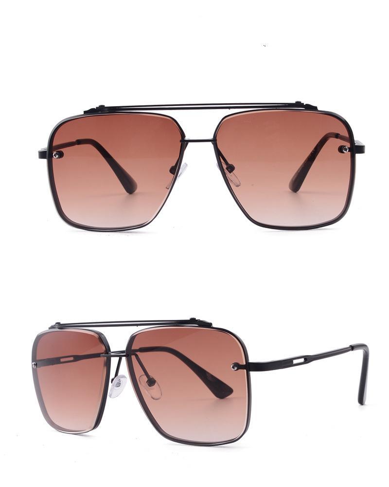 Polygonale rahmenlose geschnittene gläser brillen weibliche weibliche männer farben sonnenbrille metall retro linse metall design schöne rahmen acryl ncls