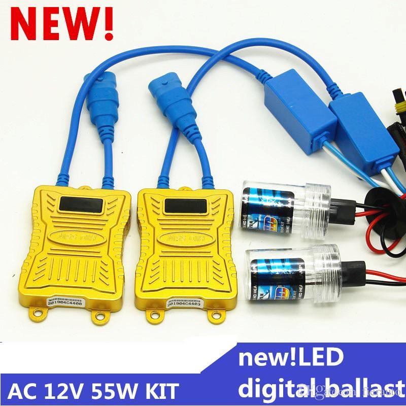 9005 HB3 9006 HB4 H1 H3 H7 H8 H9 H11 881 880 55W Car Light HID Xenon Kit AC Ballast Bulb Auto Headlight Fog Light