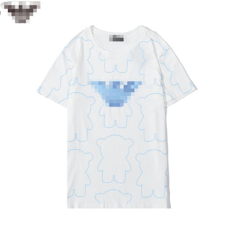 2020 New Arrive Mens Womens T-Shirts Summer Fashion Men WomenTop Tees T-shirt Short Sleeves Spring Letter Print T Shirt 20060605D