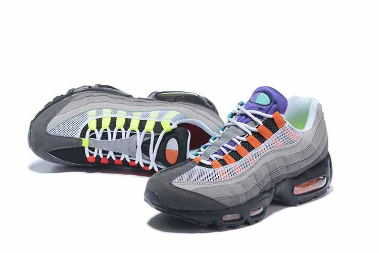 Tasarımcı Erkek Kadın 95 koşu ayakkabıları SE OG üzüm Neon TT Siyah Kırmızı 95 S üçlü beyaz ucuz Eğitmen spor ayakkabılar boyutu 7-12