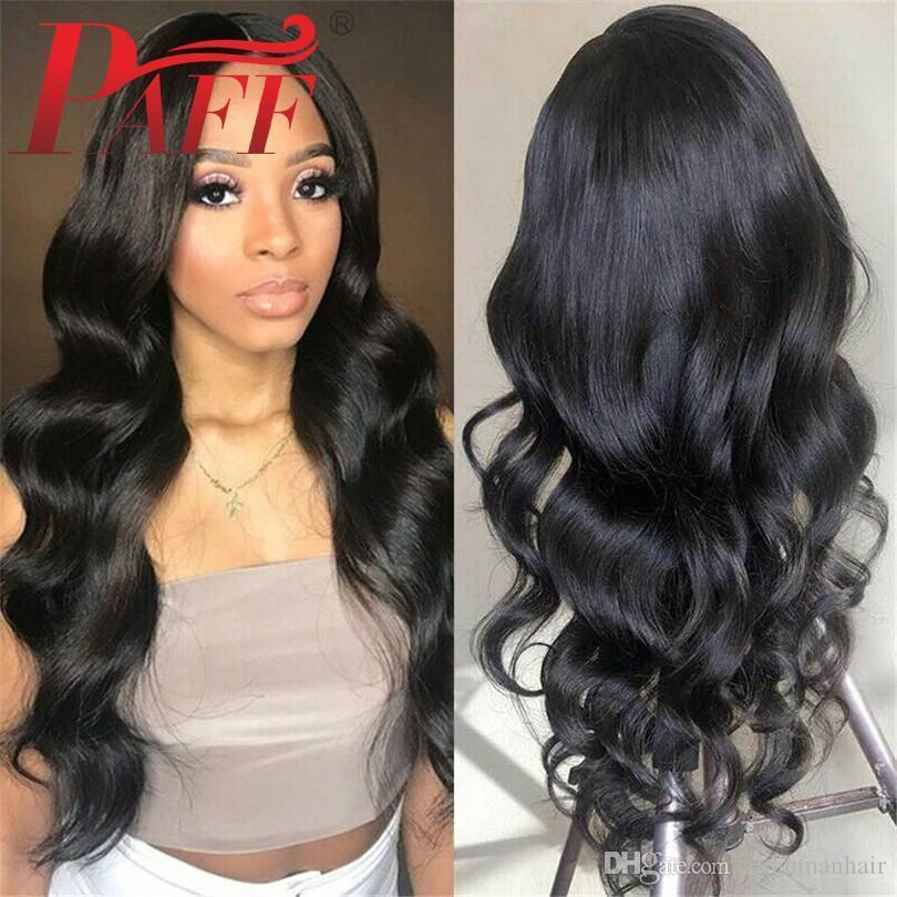 Body Wave Glueless Full Lace Human Hair Wigs Peruvian Remy Hair Lace Wigs With Baby Hair Free Part Bleached Knots