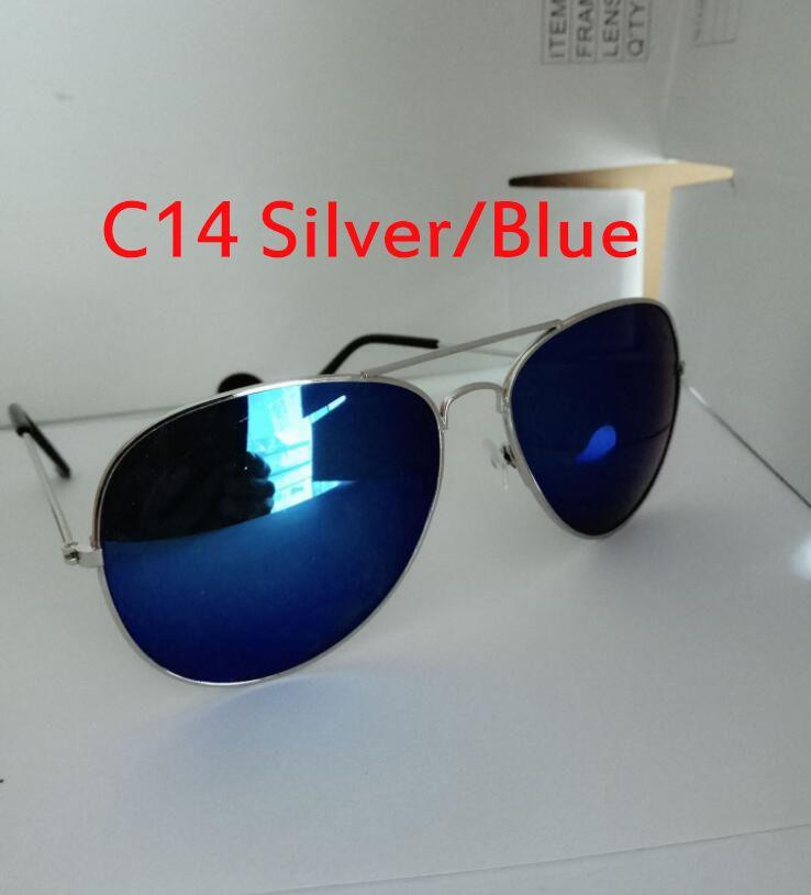 New Fashion Gradient Sunglasses Pilot 58 62mm Men Women UV400 Brand Designer Glass lens Classic Sun Glasses Gafas Oculos de Sol Driving Sung