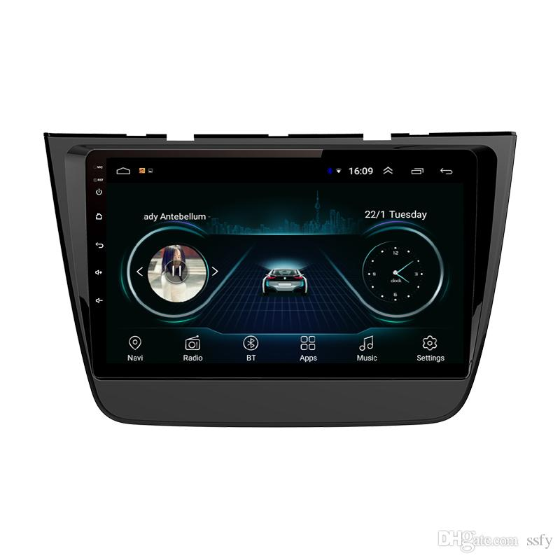Android car player with HD 1080 lossless mp3 mp4 vidio multi-touch screen high quality microphone fast delivery for MG ZS 2017 10.1inch