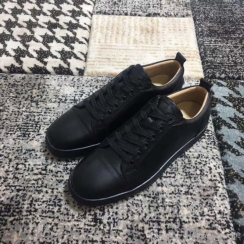 2020 nouvelles chaussures de queue rouge pour des femmes des hommes chaussures obstruent pic plateforme en cuir en daim rouge baskets mode casual fond p22p