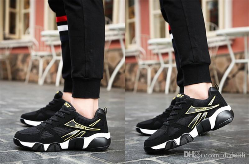 Top 2020 Hot Sale voando juventude selvagem moda respirável grife sapatos tênis sneakers tricolor mes leve tênis