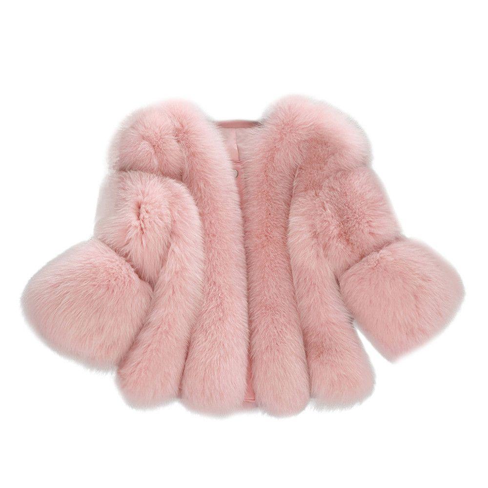 الفضة معطف الفرو السيدات الحقيقية فو الفراء سترة معطفا المرأة المعطف manteaux فام cappotto دونا invernale doppio # 8 *