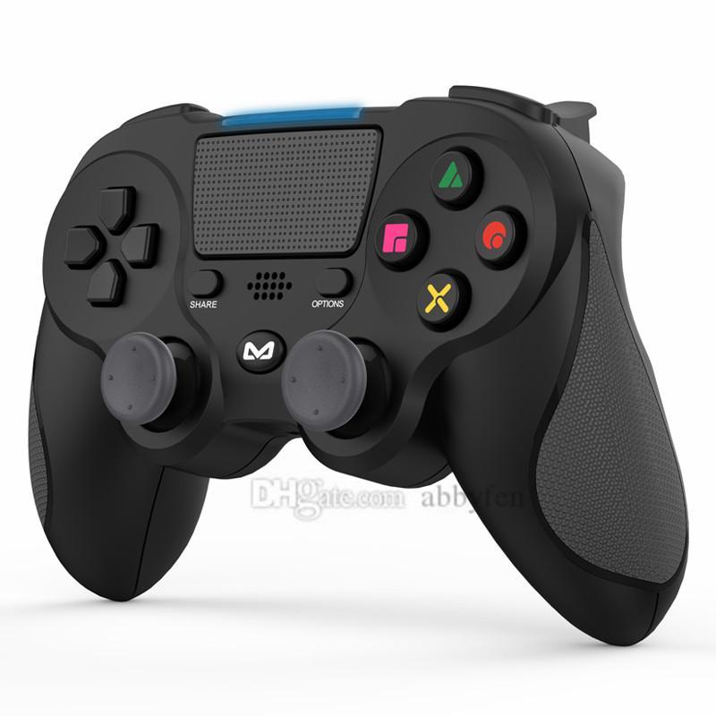 تحكم بلوتوث لاسلكي لعبة للبلاي ستيشن 4 وحدة تحكم ألعاب الفيديو وحدة التحكم نيتها إصدار قبضة الاهتزاز على المقود PS4