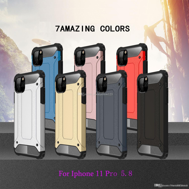 difficile Ironclad Doppia protezione completa del corpo antiurto coperture del telefono mobile stare tranquillo per iPhone 11 pro 5.8