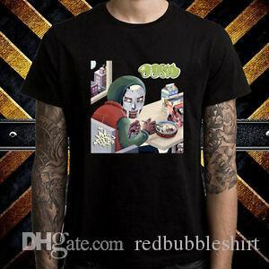 MF Doom Rap Hip Mm alimentaire Hop Album Logo Hommes T-shirt noir taille S à 3XL