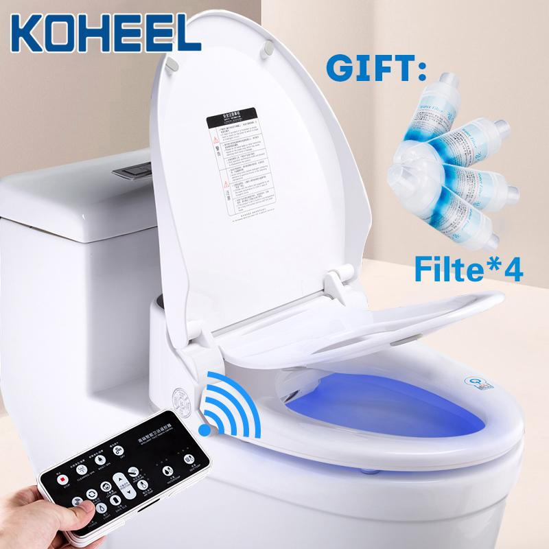 2020 Smart Toilet Seat Cover Led Light Remote Style Heating Bidet Toilet Seat Bathroom Intelligent Toilet Seat Lid From Chaowalmai2 216 54 Dhgate Com