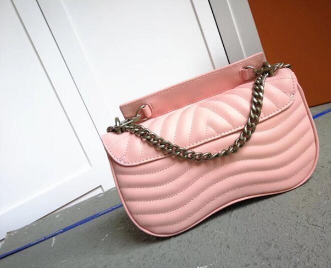venta caliente de la venta caliente Bolsas bolsos de la moda de las mujeres del diseñador del Carteras para las mujeres de la cadena del bolso de cuero Crossbody Y los bolsos de hombro M