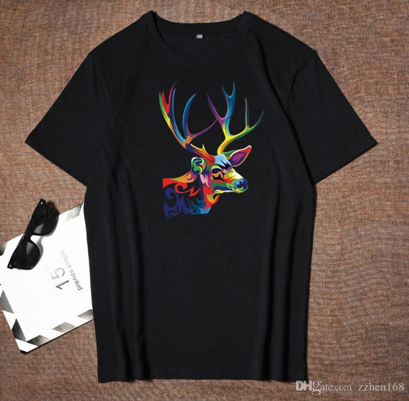 Novas Designer camisetas Mens Clothing Polos Tops Camiseta Moda Verão Tide Braned letras impressas camisa dos homens Luxo Roupa M-4XL