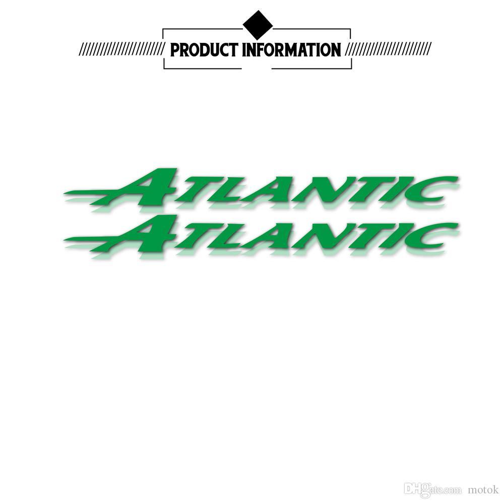 Color logo applique motorcycle sticker bicycle car fuel tank sticker reflective waterproof decal helmet logo for Aprilia ATLANTIC